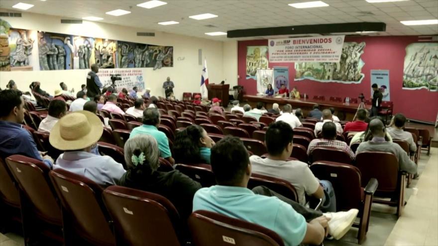 Discuten en Panamá el futuro de seguridad social en la región