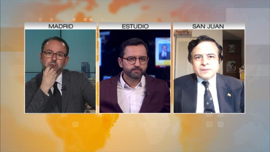 Campano, Szászdi y Romero abordan acusaciones contra Rusia en HispanTV