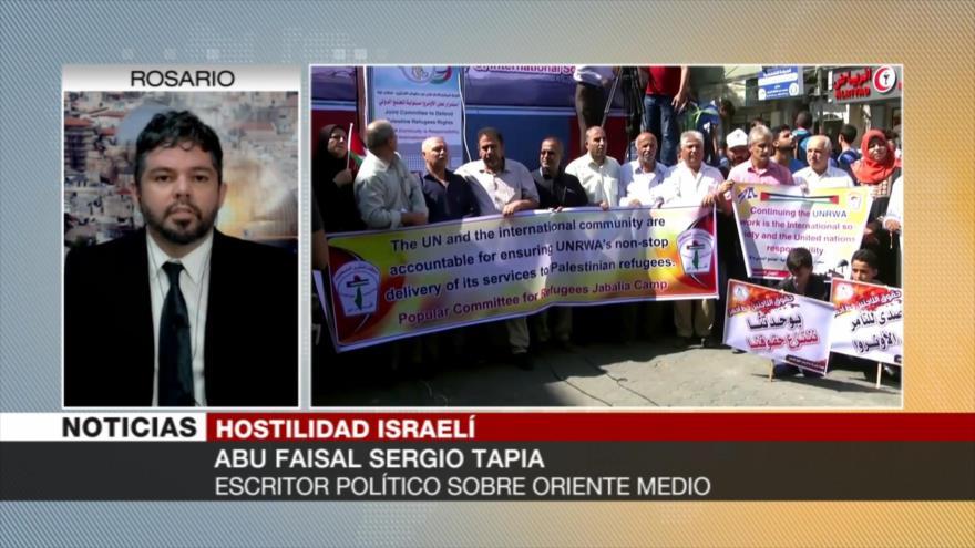Sergio Tapia: La ONU es culpable de genocidio de pueblo palestino