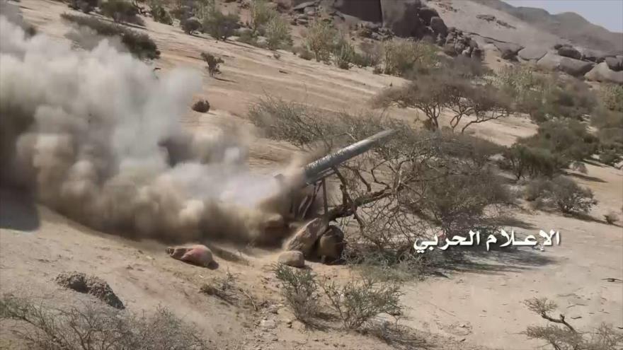 Vídeo: Ansarolá ataca con varios misiles sitios militares saudíes