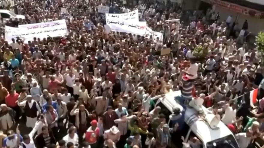 Protestas contra pobreza e inflación en sur de Yemen