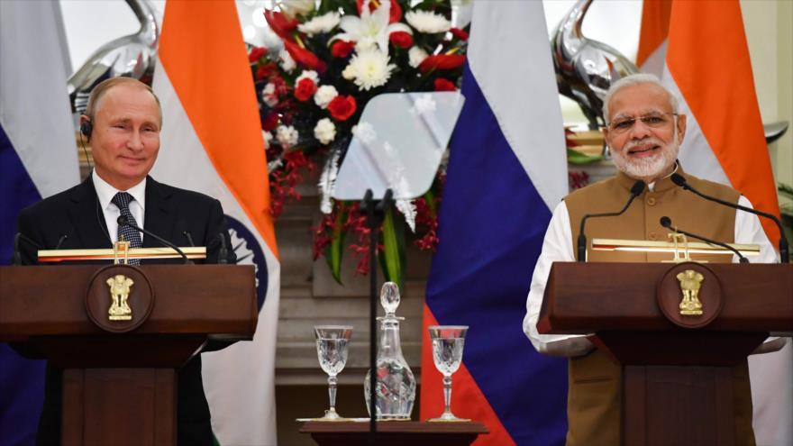La India compra sistemas antiaéreos S-400 a Rusia