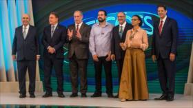Haddad advierte del peligro de Bolsonaro para la democracia