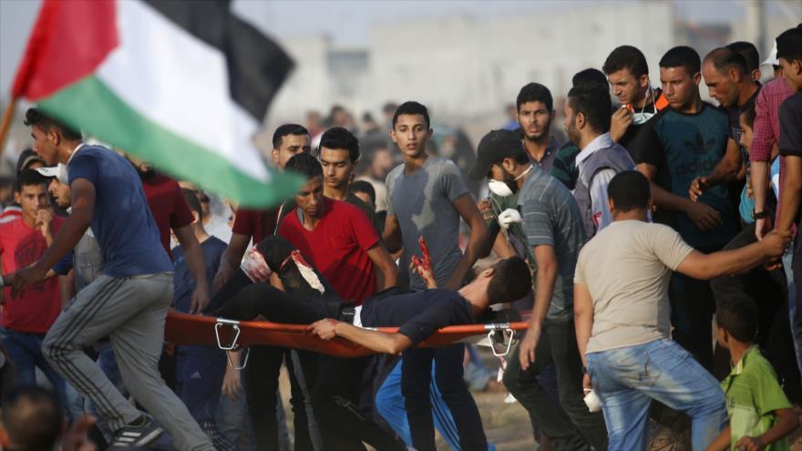 3 muertos y 376 heridos, saldo de represión israelí contra palestinos