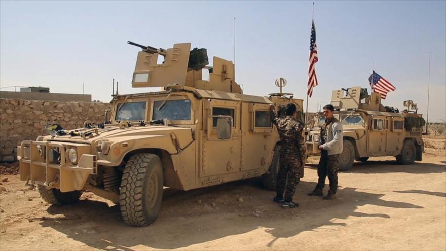 EEUU envía a Siria un nuevo convoy logístico con marines
