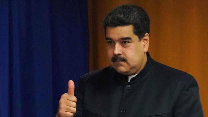 El presidente de Venezuela, Nicolás Maduro, Nueva York, 27 de septiembre de 2018. (Fuente: AFP).
