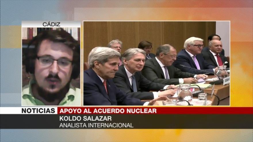 Salazar: UE mantiene libertad ante presión de EEUU a Irán