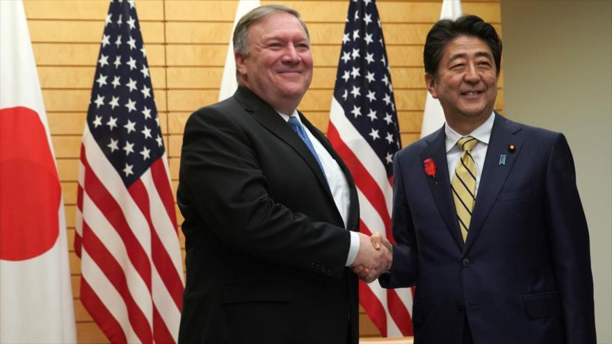 Pompeo coordina con Japón la desnuclearización de Corea del Norte