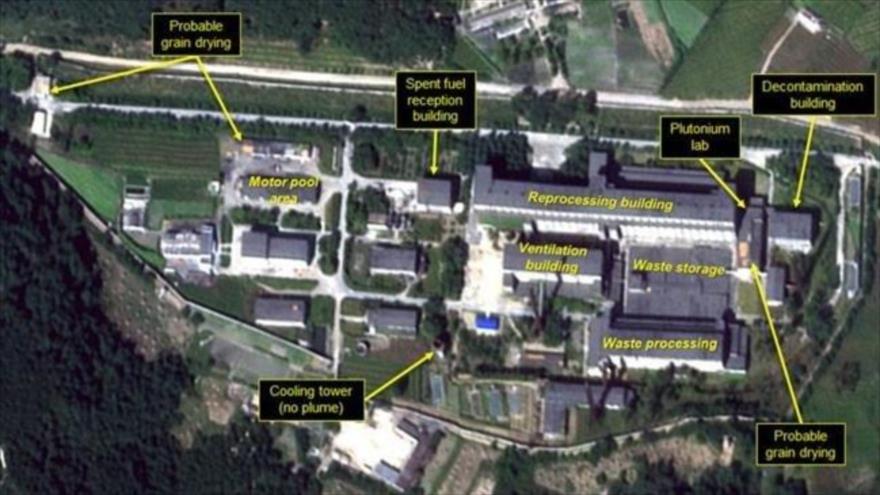 Hay actividad continua en un centro nuclear norcoreano