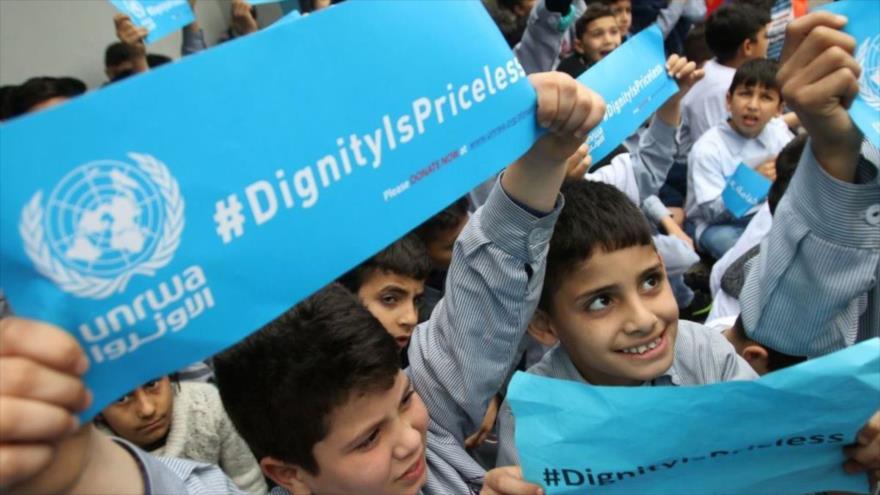 Palestina condena complot israelí para expulsar a UNRWA de Al-Quds