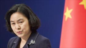 China exige a EEUU respetar a los países que rompen con Taiwán
