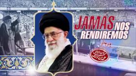 Detrás de la Razón; Jamás nos arrodillaremos ante las armas de Estados Unidos: Irán