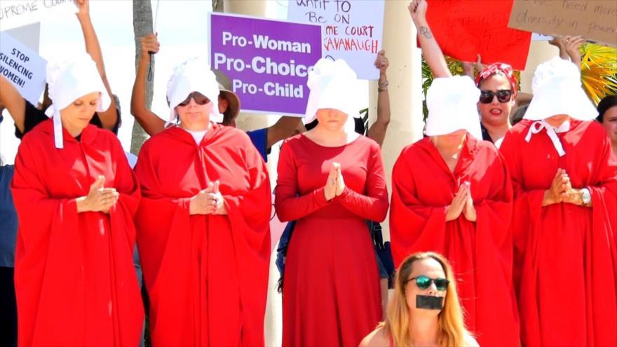 Kavanaugh a la Corte Suprema de EEUU, pero la polémica continúa