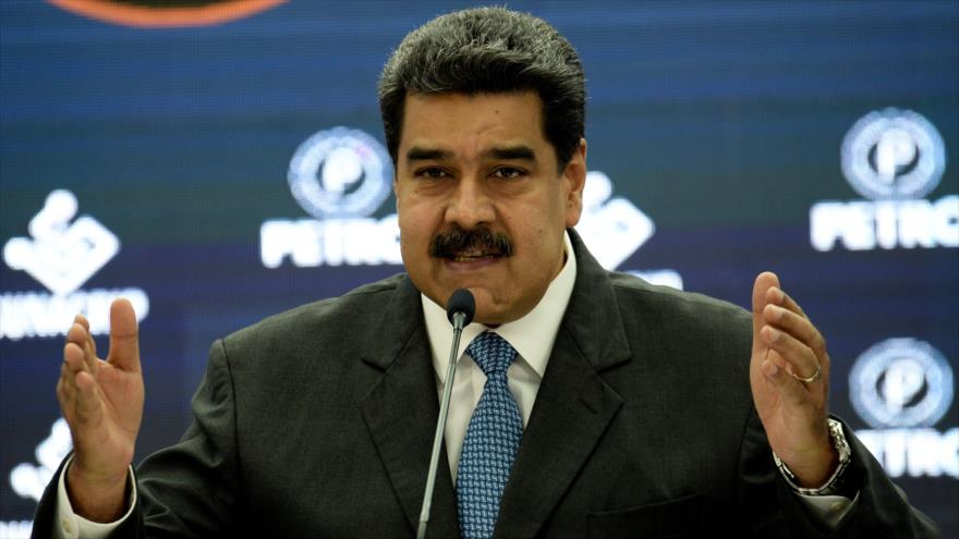 El presidente de Venezuela, Nicolás Maduro, durante un discurso en Caracas, 2 de octubre de 2018. (Foto: AFP)