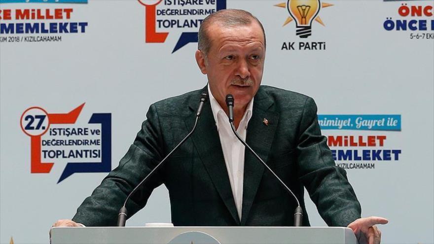 "Erdogan persigue ""personalmente"" asesinato de periodista saudí"