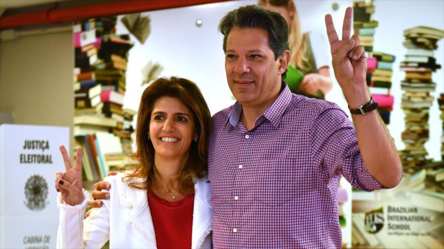 Haddad advierte del riesgo que corre Brasil en manos derechistas