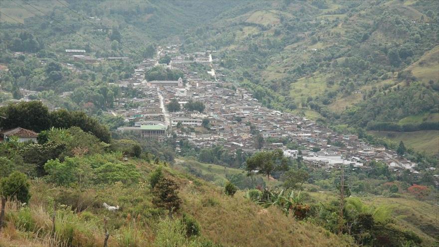 Municipio de Bolívar, en el sur del departamento colombiano de Cauca, en el oeste del país. (Foto: Periódico Virtual)