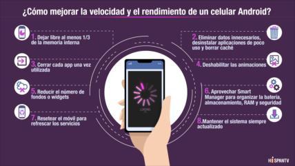 ¿Cómo mejorar la velocidad y el rendimiento de un celular Android?