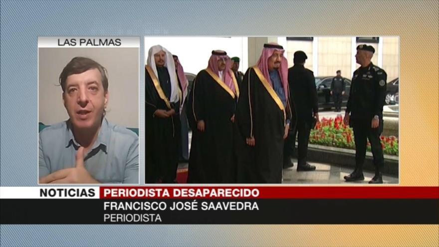 Saavedra: Riad es un régimen autocrático que no soporta las críticas