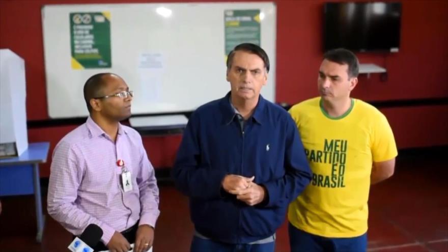 Bolsonaro y Haddad van a la segunda vuelta en Brasil