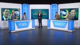 Foro Abierto; Brasil: Bolsonaro y Haddad, a segunda vuelta por la Presidencia