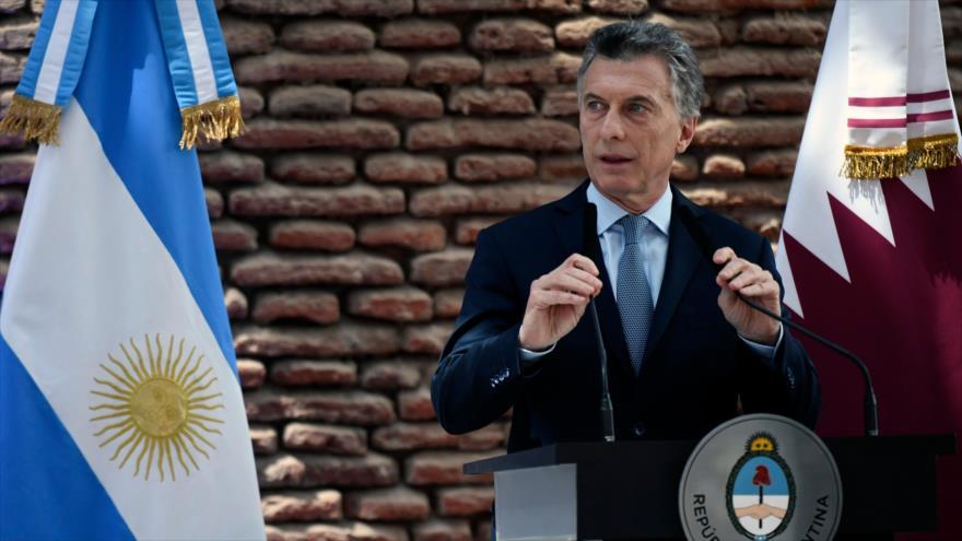 El presidente de Argentina, Mauricio Macri, Buenos Aires, 5 de octubre de 2018.