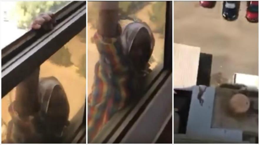 Condenan a cárcel a una kuwaití por no ayudar a su criada de caída