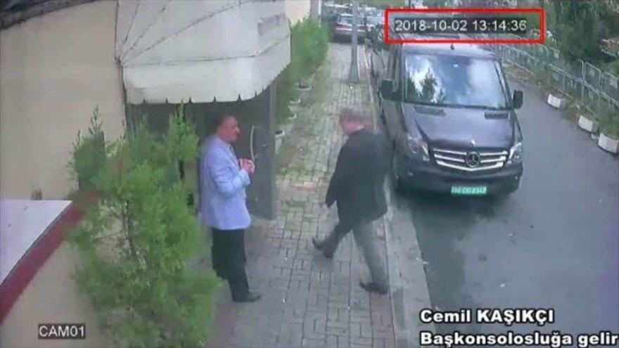 Riad acepta registro de su consulado tras desaparición de Jashoggi