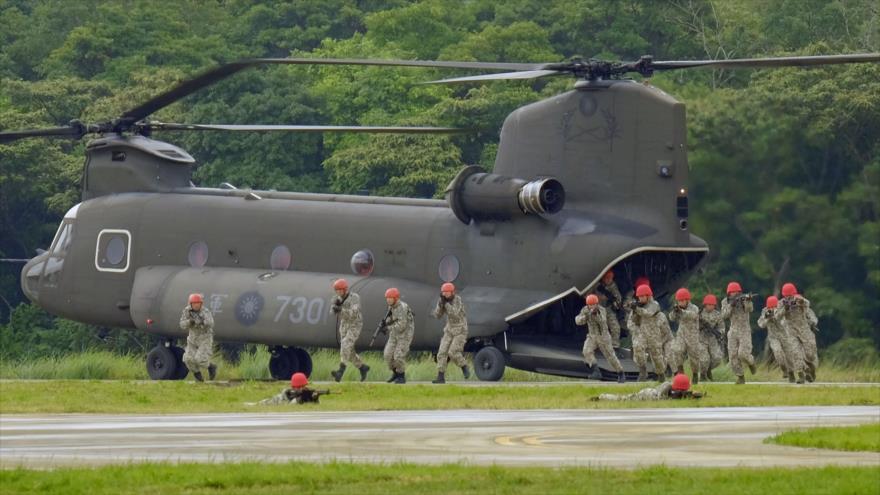 Vídeo: Taiwán simula un ataque chino contra su base aérea