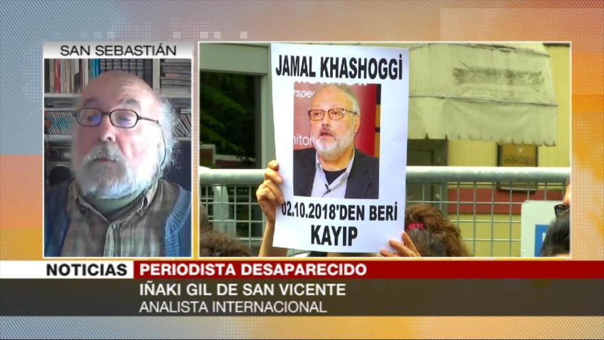 Iñaki: Arabia Saudí acalla cualquier voz que critica sus crímenes