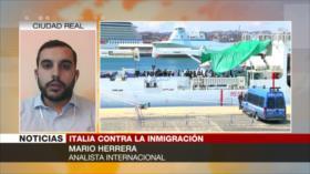 Herrera: Salvini no solo es racista, se regodea con su racismo