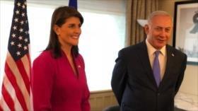 Netanyahu agradece a Haley su lucha contra hipocresía de la ONU