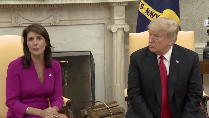 Renuncia la arrogante embajadora de EEUU ante la ONU