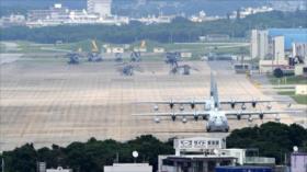 Gobernador de Okinawa exige mover base militar de EEUU de la isla