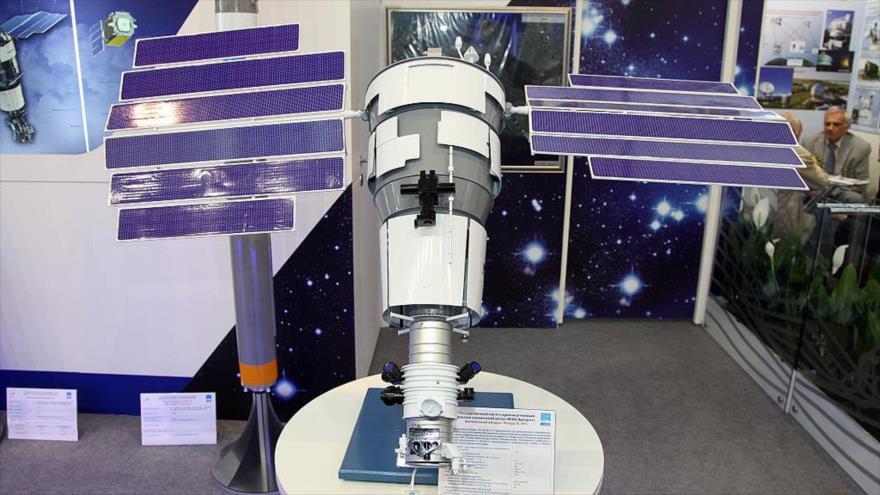 El satélite ruso Resurs-P.