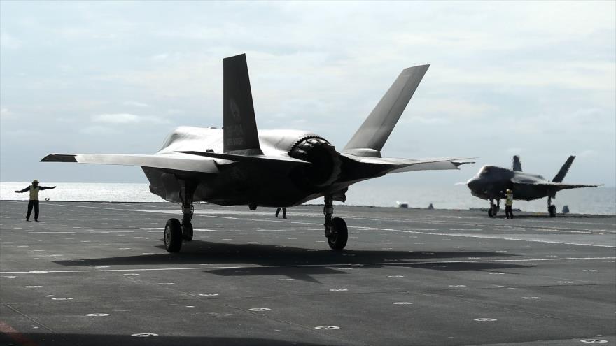 'EEUU duda de invisibilidad de sus cazas F-35 en Siria ante S-300'