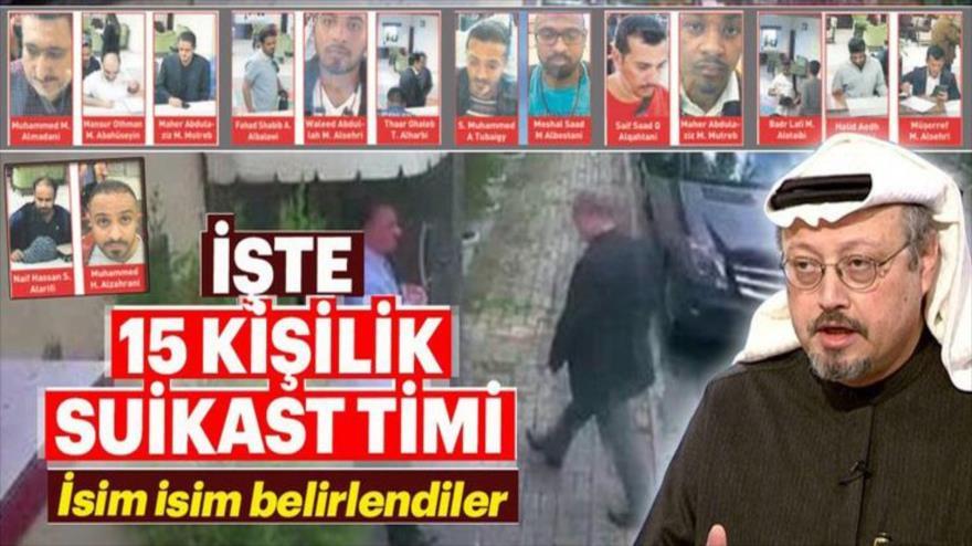 """Publican imágenes de """"escuadrón de asesinato"""" saudí en Estambul"""