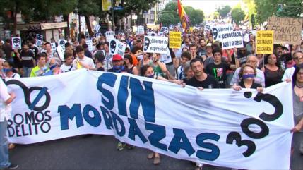Se descarta derogar la Ley Mordaza en España