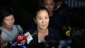 Detenida la líder opositora en Perú por lavado de dinero