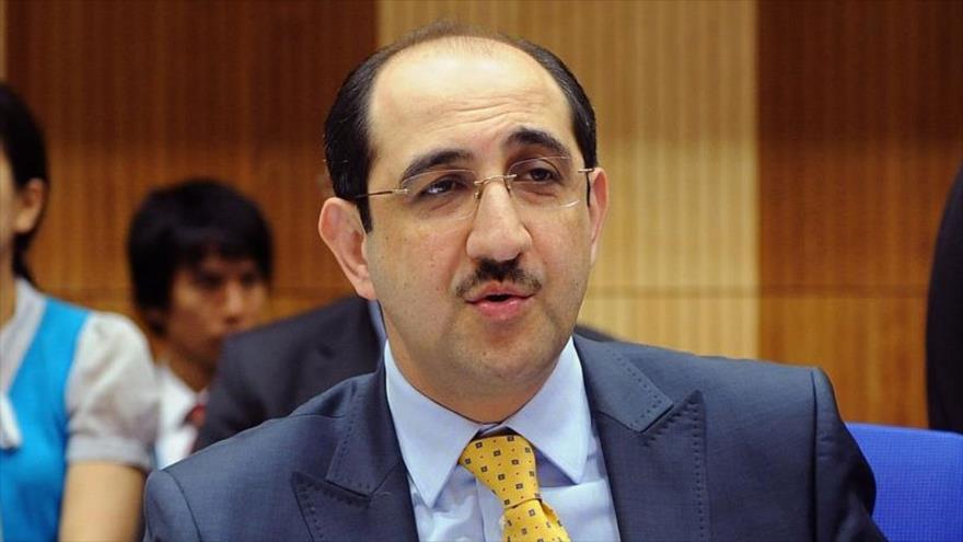 El embajador de Siria ante la Organización para la Prohibición de las Armas Químicas (OPAQ), Basam Al-Sabbaq.