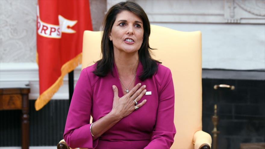 Vídeo: Un repaso a momentos no muy exitosos de Haley en la ONU