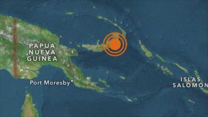 Fuerte sismo afecta a Papúa Nueva Guinea; alertan de tsunami
