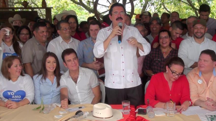 Manuel Zelaya podría volver a disputa presidencial en Honduras