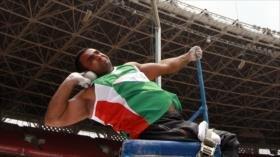 Irán ocupa el 3.º lugar en Juegos Parasiáticos en 5.ª jornada