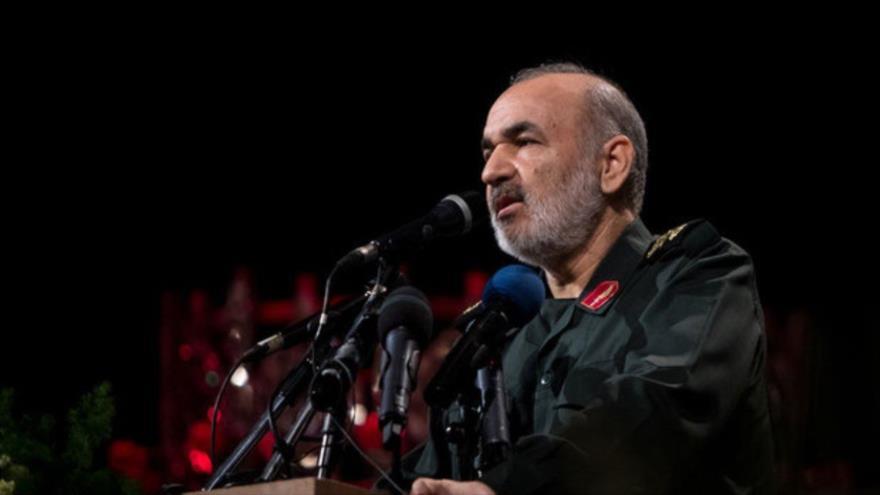 El subcomandante del Cuerpo de Guardianes de la Revolución Islámica (CGRI), el general de brigada, Hosein Salami.