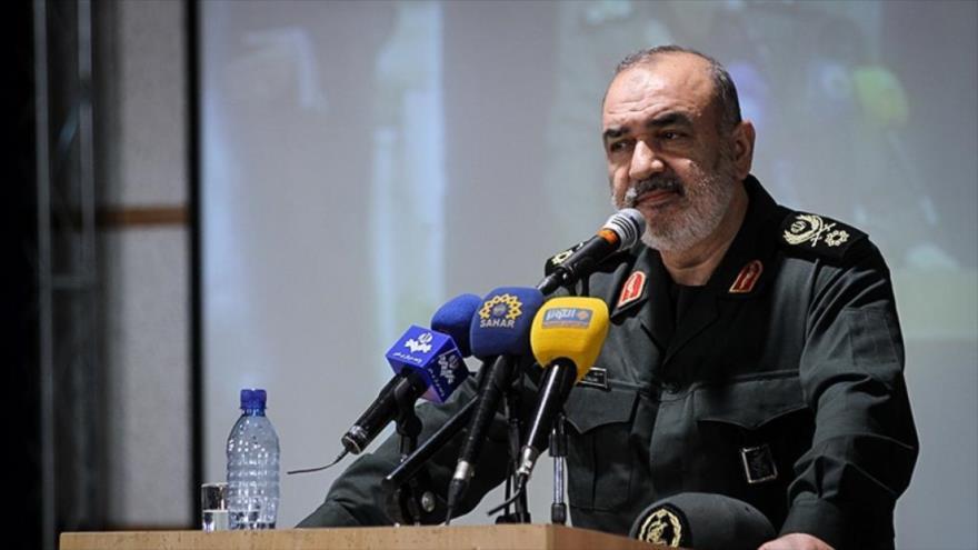 El subcomandante del Cuerpo de Guardianes de la Revolución Islámica (CGRI) de Irán, el general de brigadaHosein Salami.