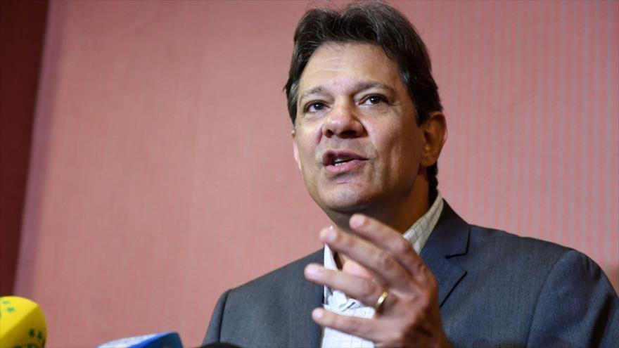 Haddad sigue confiado en ganar presidenciales en Brasil