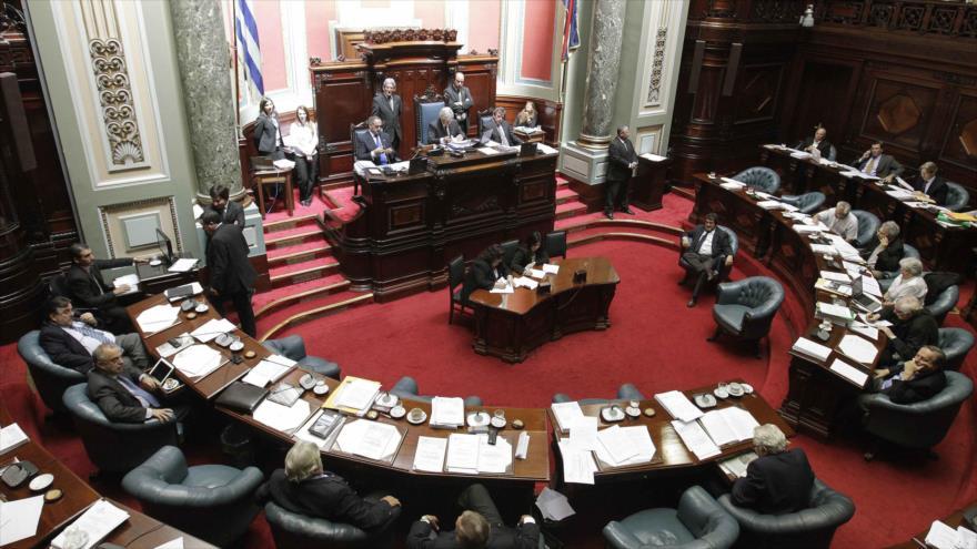 Una sesión del Senado de Uruguay. (Foto: Reuters)