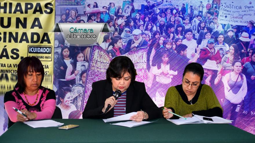 Cámara al Hombro: Chiapas sin políticas públicas para investigar feminicidios
