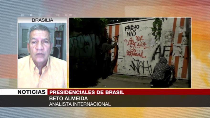 Almeida: Violencia en campaña electoral en Brasil genera inquietud